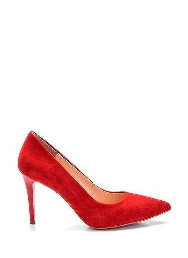 Derimod Kadın Stiletto (246-01) Gova/Stiletto Kırmızı